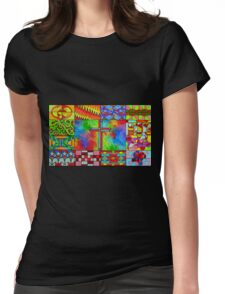 Zentangle Womens Fitted T-Shirt