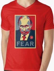 Russian President Vladimir Putin - Fear Mens V-Neck T-Shirt