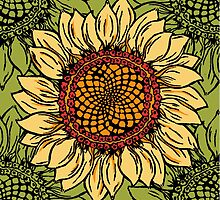 sunflower sunflower by Wendy Howarth