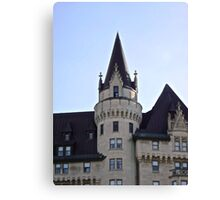 The Chateau Laurier Hotel, Ottawa, ON Canada Canvas Print