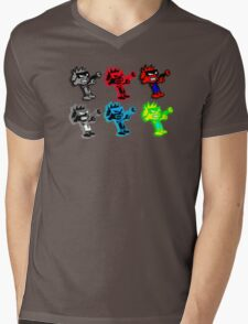 Spiffy Warhol Mens V-Neck T-Shirt
