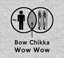 Bacon Plus Me Are Bow Chikka Wow Wow Unisex T-Shirt