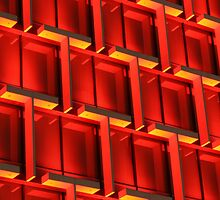 Architecture in Red! by Stephen Horton
