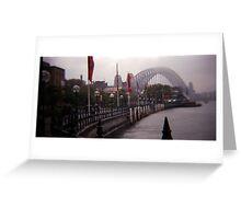 Sydney fog Greeting Card