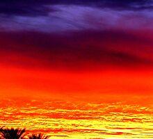 Clashing Sunset  by Jordan  Massanet