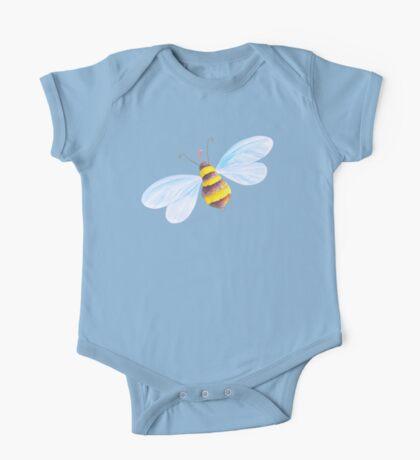 Cute honey bee whimsical watercolor art One Piece - Short Sleeve