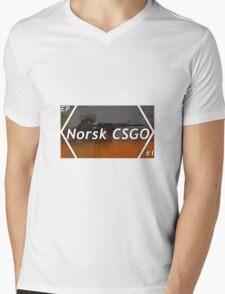 CSGO NORSK Mens V-Neck T-Shirt
