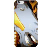 Gray Horsey Face iPhone Case/Skin