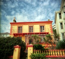 Orange holga house by redcow
