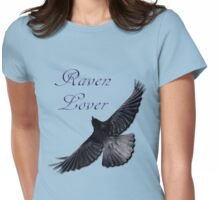 Raven Lover Corvid Art Design Womens Fitted T-Shirt