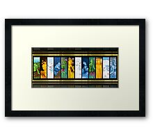 Elements: Babies to Adults Framed Print