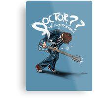 Doctor?? Metal Print