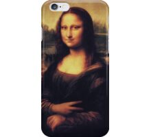 Mona Lisa! SWAG! PEACE! YOLO! Parody iPhone Case/Skin