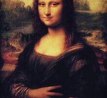 Mona Lisa! SWAG! PEACE! YOLO! Parody by badbugs