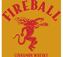 FIREBALL Photographic Print