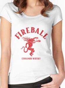 FIREBALL Women's Fitted Scoop T-Shirt