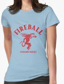 FIREBALL Womens Fitted T-Shirt