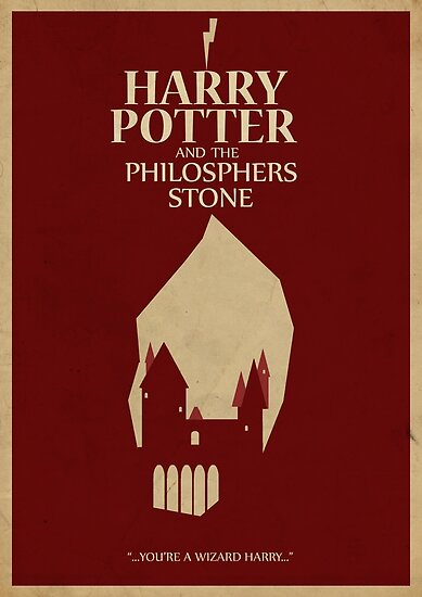 This is on my Wish List: Harry Potter and the Philosophers Stone Posters