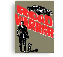 Road Warrior Canvas Print