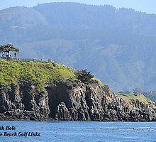7th Hole Pebble Beach Golf Links by Joni  Rae