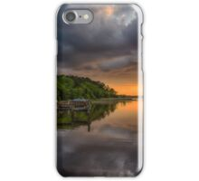 Last Light in Chestertown iPhone Case/Skin