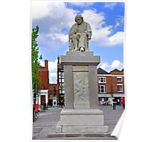 Dr Samuel Johnson Statue, Lichfield Poster