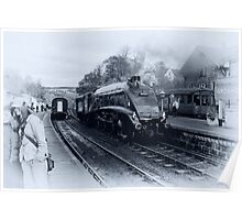 A4 Steam Train - Grosmont Poster