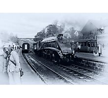 A4 Steam Train - Grosmont Photographic Print