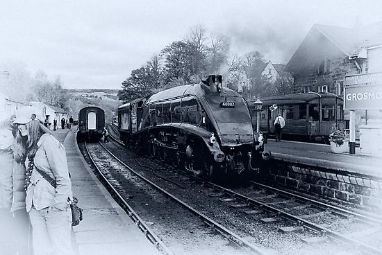 A4 Steam Train - Grosmont by Trevor Kersley