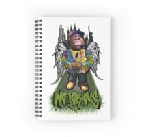 """Biggie Tribute"" Spiral Notebook"