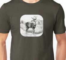White-tail Stag Sniffing the Air Unisex T-Shirt
