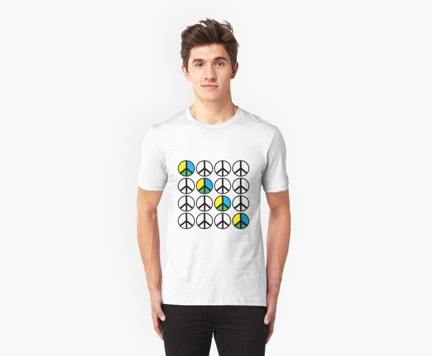 Ban the Bomb Peace T-Shirt by simpsonvisuals