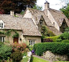 Arlington Row houses in Bibury UK by GeorgeOne
