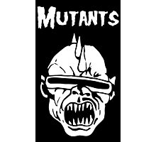 Mutants Fiend Club Photographic Print