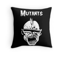 Mutants Fiend Club Throw Pillow