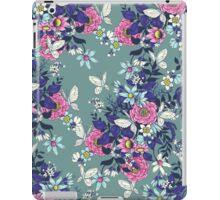 Thea's Garden - teal tones iPad Case/Skin