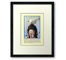 Healing Through Humor Framed Print