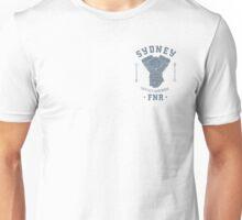 Sydney FNR Retro Logo Blue Unisex T-Shirt