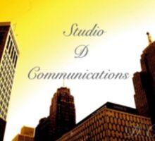 Studio D Communications Sticker