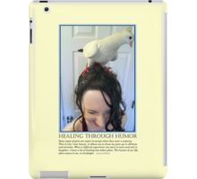 Healing Through Humor iPad Case/Skin