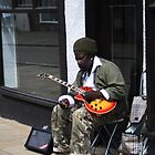 The Busker by Dave Godden