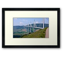 The Millau Viaduct - France Framed Print