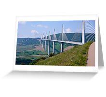 The Millau Viaduct - France Greeting Card