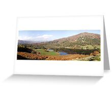 Rydal Water Panorama Greeting Card
