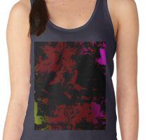 Digital flower pattern art Women's Tank Top