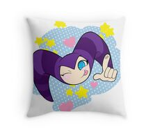 Cutie NiGHTS the Nightmaren Throw Pillow