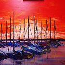 Sailboats at Rest by Phil Cashdollar