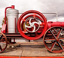 Vintage Engine by Deborah McGrath