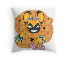 Ecstatic Jackle Throw Pillow