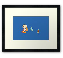 Cream Cheese and Chocola Framed Print